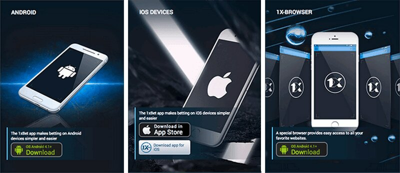 1xBet app download