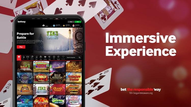 Betway Vegas app