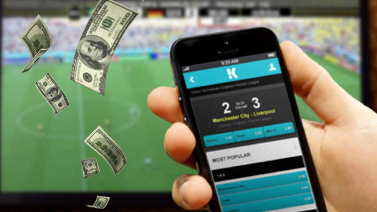 sports through the Betfair apk
